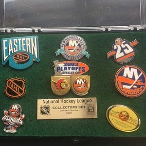 Vintage Collectable NHL hockey pins